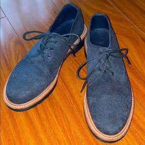 Dr martens 15400 black paisley oxford loafer